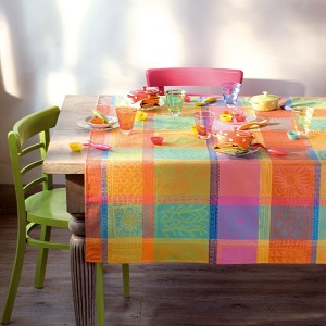 Mille Wax Creole Tablecloths, 100% Cotton