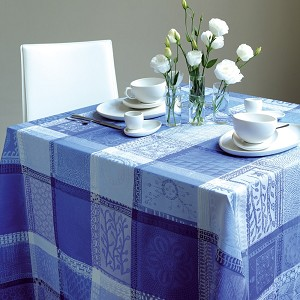 Mille Wax Ocean Tablecloths, 100% Cotton
