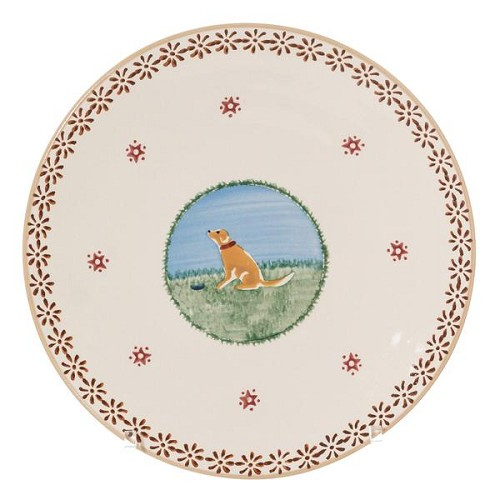 Dog Everyday Plate