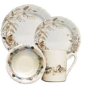 Gien Sologne 4 pc Place Setting