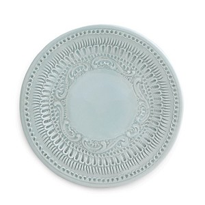 Finezza Blue Canape Plate- Retired, Limited Stock Available