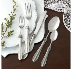 Bella Bianca 5-Piece Flatware Place Setting
