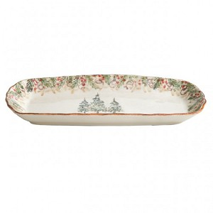 Natale Rectangular Tray