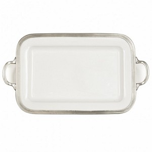 Tuscan Rectangular Tray with Handles