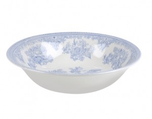 Blue Asiatic Pheasant Pudding/Soup Bowl