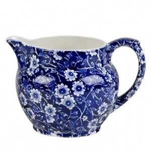 Blue Calico Dutch Jug Small