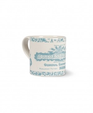 Heritage Mug Teal Retired