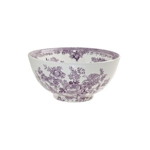 Plum Asiatic Pheasant Chinese Bowl - Med