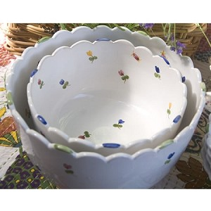 Faienceries d'Art de Malicorne Salad Bowl