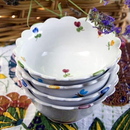 Faienceries d'Art de Malicorne Mille Fleurs Small Bowl
