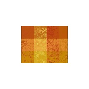 "Mille Couleurs Soleil Placemat 16"" X 20"", set of 4 Coated or Non Coated"