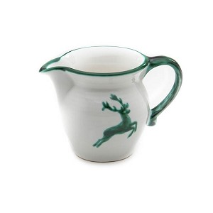 Green Deer (Stag) Classic Milk Jug 16.9 Ounce