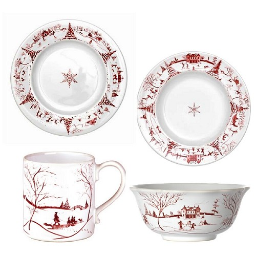 Winter Frolic Place Setting Set/4