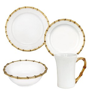 Bamboo 4 Piece Place Setting