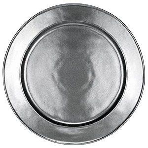 Pewter Round Charger