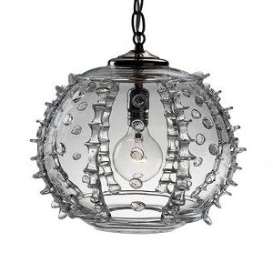 Harriet Globe Pendant, Clear