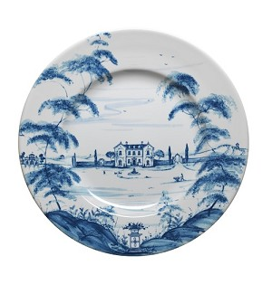 Country Estate Delft BlueDinner Plate Main House