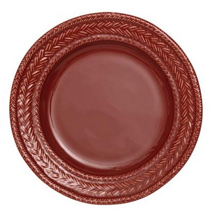 Le Panier Ruby Basketweave Dessert/Salad Plate RETIRED
