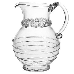 "Amalia 9.5"" Round Pitcher Clear"