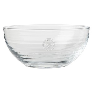 "Berry & Thread Glassware 8.5"" Bowl Clear"