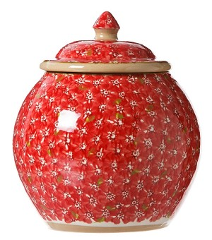 Red Lawn Cookie Jar