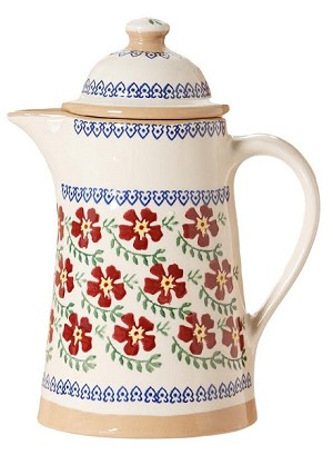Old Rose Coffee Pot