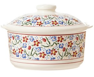 Wildflower  Meadow Medium Lidded Casserole