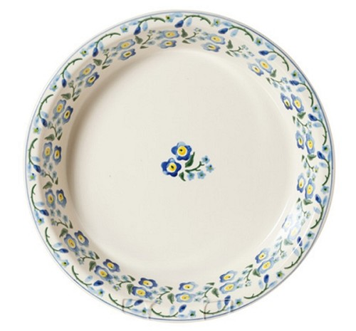 Forget Me Not Pie Dish