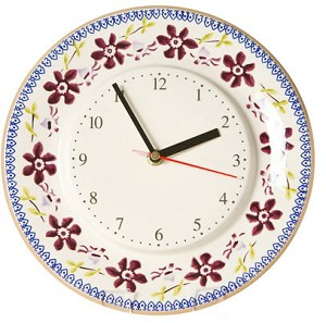 Clematis Kitchen Clock