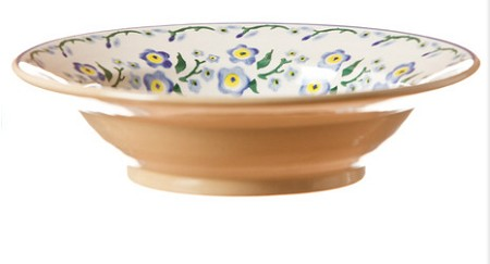 Forget Me Not Individual Pasta Bowl