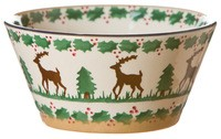 Reindeer Small Angled Bowl