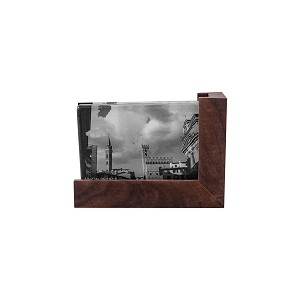 Ludlow Glass  and  Wood Photo Frame - 4 X 6