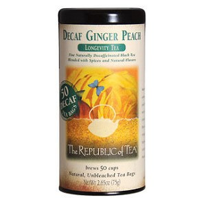 Decaf Ginger Peach Black - 50 Tea Bags
