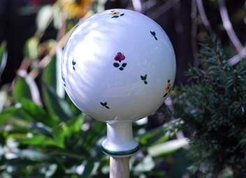 Alpine Flowers Garden Globe Small - RETIRED 1 available