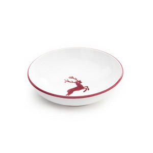 Bordeaux Wine Red Deer Small Low Cereal  Dish