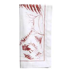 Country Estate Ruby Winter Frolic Napkin set/4 (Retired)