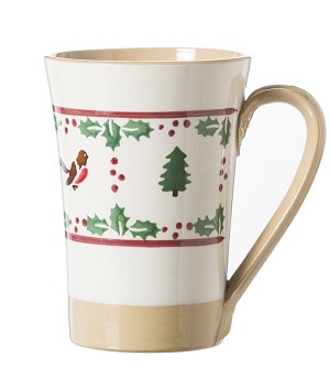 Winter Robin Tall Mug
