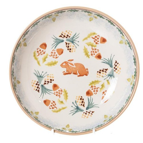 Woodland Rabbit Everyday Plate - Only 3 available